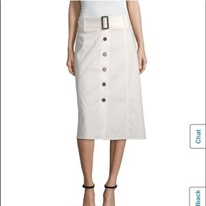 Worthington White A Line Skirt